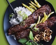 Bouts de côtes à la sauce barbecue coréenne