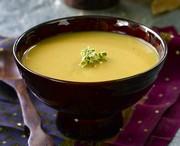 Soupe à la courge musquée et au gingembre 2