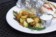 Pommes de terre et haricots verts en salade