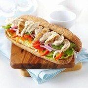 Sandwichs au poulet « Banh mi »