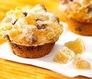 Muffins au gingembre et chocolat
