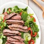Salade de Bifteck Asiatique