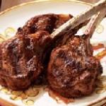 Agneau sauce balsamique aux figues et à l'érable