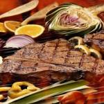 Biftecks d'aloyau grillés à la mode de Kobe