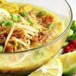 Soupe Vegan Soto ayam