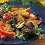 Brochettes de veau sucrée au Sambucca