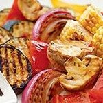 Légumes grillés méditerranéens