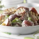 Salade de pommes de terre à l'ail grillé 3