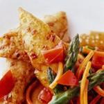 Poulet balsamique et légumes