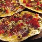Pizzas croustillantes