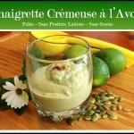 Vinaigrette Crémeuse à l'Avocat