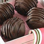 Truffes royales au chocolat mi-amer