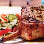 Côtelettes de porc Nagano, sauce ponzu