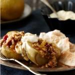 Pommes au four à l'érable accompagnées de tortas à la cannelle