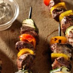 Chiches Kébabs de Boeuf Balsamique