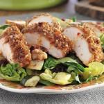 Salade Croquante d'Automne au Poulet