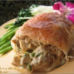 Baluchons de poulet à la dijonnaise