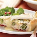 Quiche aux 5 fromages