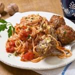 Spaghetti & Meatballs à la sauce tomate