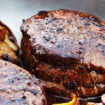 Médaillons de bifteck sauce aux champignons