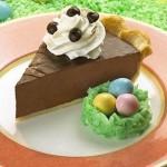 Tarte à la crème au chocolat velouté