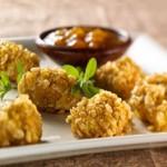 Bouchées de poulet au cari