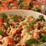 Couscous végétarien au Bocconcini