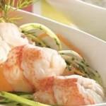Salade de homard et pamplemousses
