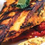 Poitrines de poulet marinées au yogourt et au cari