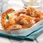 Crevettes grillées à la sauce chili épicé