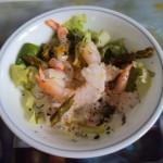 Bouquet de crevettes à la dijonnaise