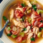 Soupe mexicaine au poulet