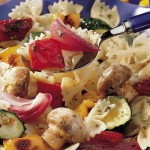 Salade de pâtes aux légumes grillés