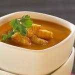 Soupe à la salsa et aux patates douces