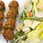 Kebab de veau de grain aux graines de sésame