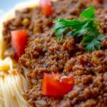 Sauce à spaghetti au four