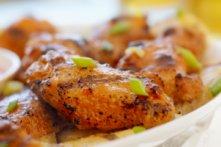 Ailes de poulet BBQ et trempette mexicaine
