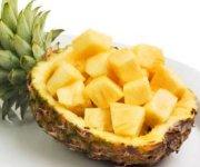 Ananas, sirop au kirsch