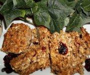 Barre santé, canneberges et noix de coco