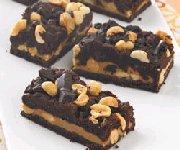 Barres au chocolat et au beurre d'arachide