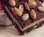 Barres au chocolat et aux arachides