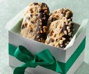 Barres de biscuits au caramel et au chocolat de glacière