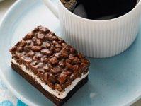 Barres de céréales guimauves-chocolat