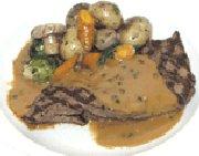 Bifteck de surlonge sauce aux 5 poivres
