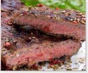 Biftecks de contre-filet aux tomates séchées et origan