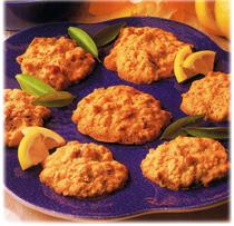 Biscuits aux dattes et au citron