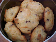 Biscuits à l'orange et au chocolat 2