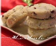 Biscuits à la noix de coco, aux canneberges et aux pistaches