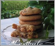 Biscuits au beurre d'arachide et aux Oh Henry