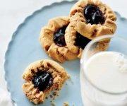 Biscuits au beurre d'arachides et à la gelée de raisins